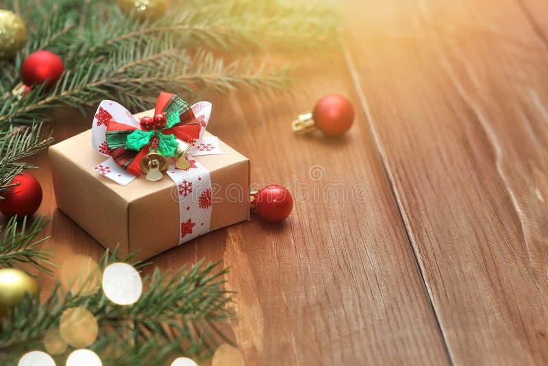Christmas decor and gift stock image