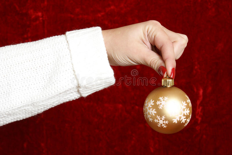 Christmas Decorating stock photos