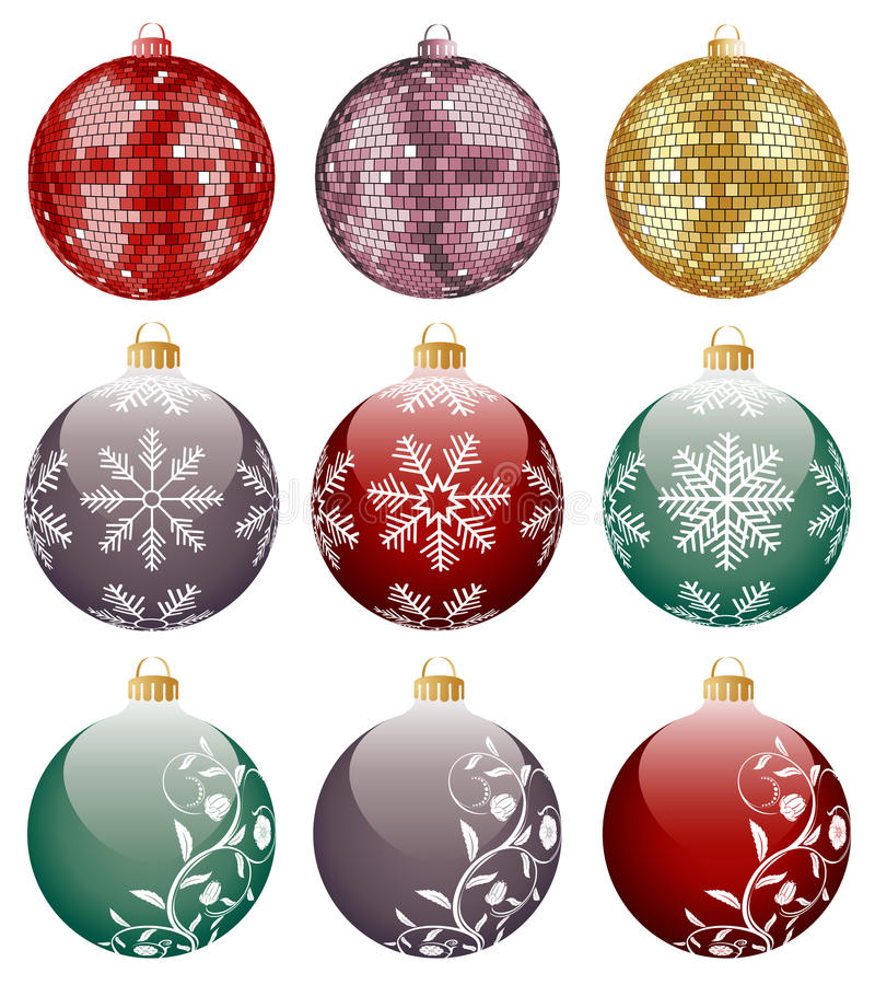 Download Christmas decoration stock vector. Image of flower, object - 11741008