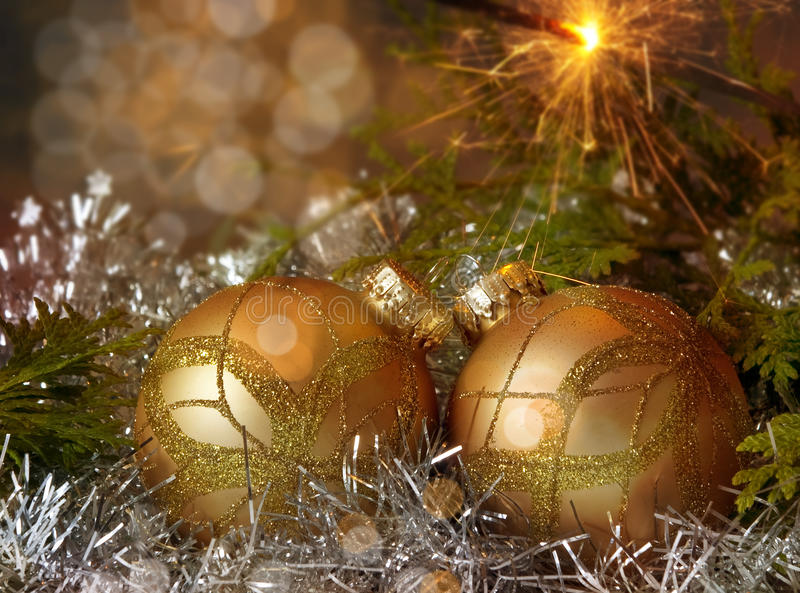 Download Christmas decoration stock image. Image of black, evening - 16485189
