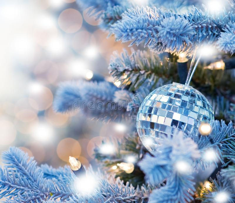 Christmas decoration. Picture of a Christmas decoration royalty free stock photo