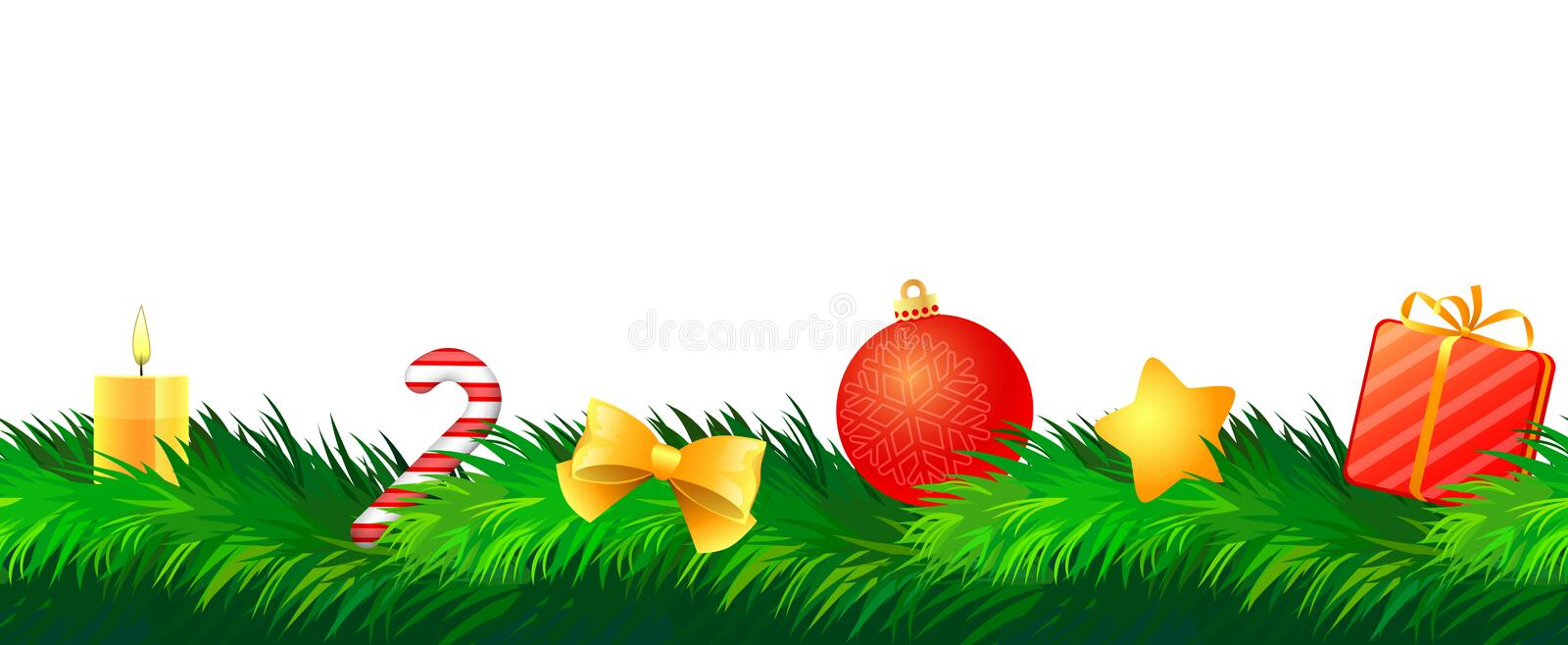 Christmas decoration royalty free illustration