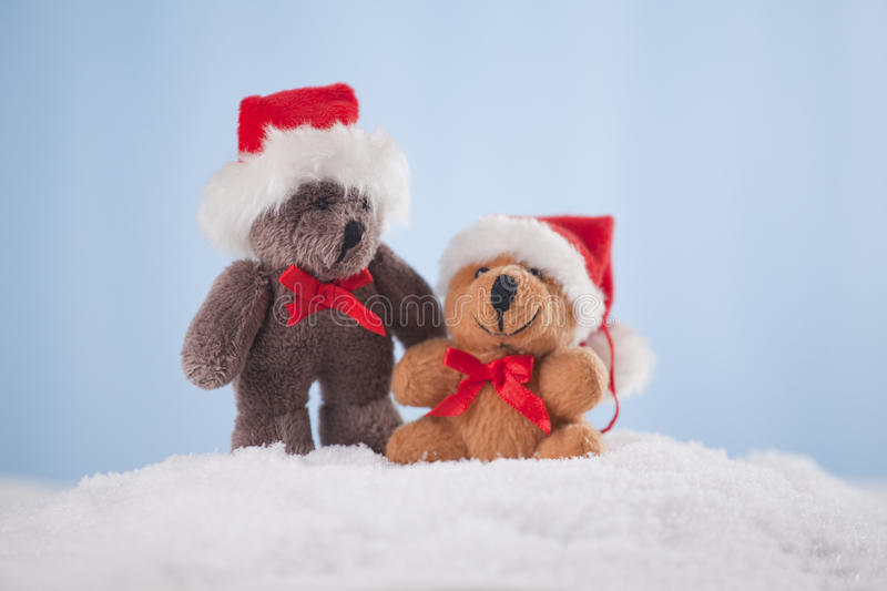 Download Christmas decoration stock image. Image of snow, teddy - 27982389