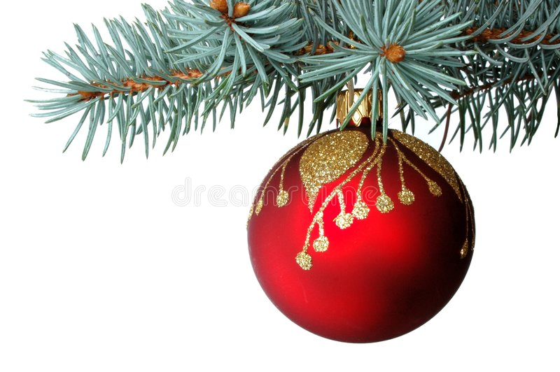 Download Christmas decoration stock photo. Image of december, ball - 48644