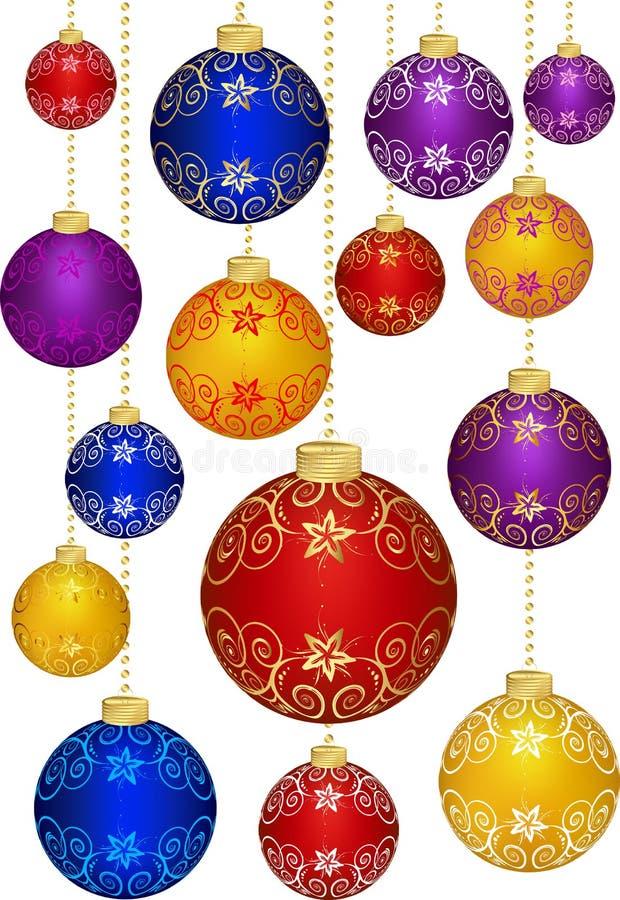 Christmas decoration. stock illustration