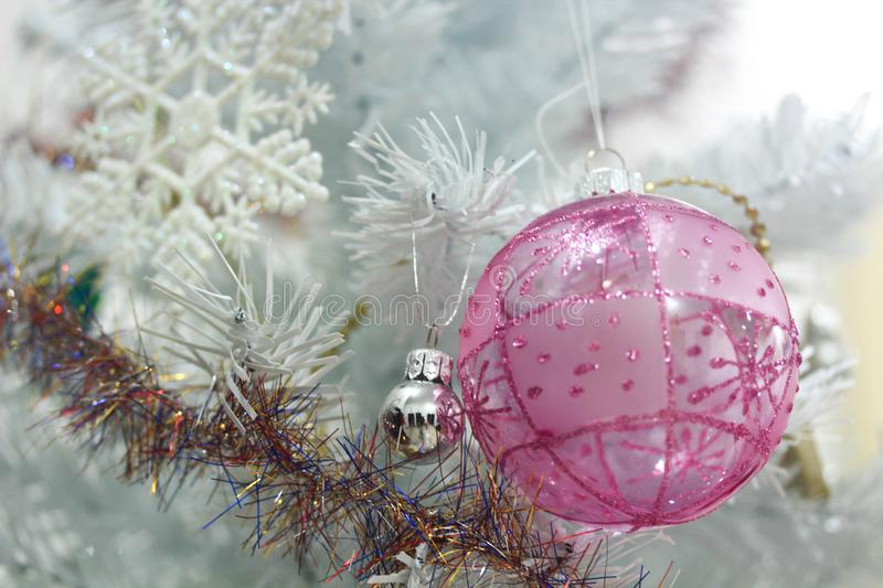 Christmas decoration on abstract background,vintage filter,soft focus. Christmas decoration for holidays on abstract background,close up, vintage filter,soft stock photos