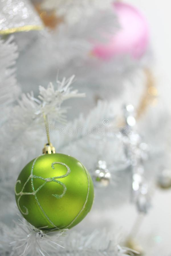 Christmas decoration on abstract background,vintage filter,soft focus. Christmas decoration for holidays on abstract background,close up, vintage filter,soft royalty free stock photos