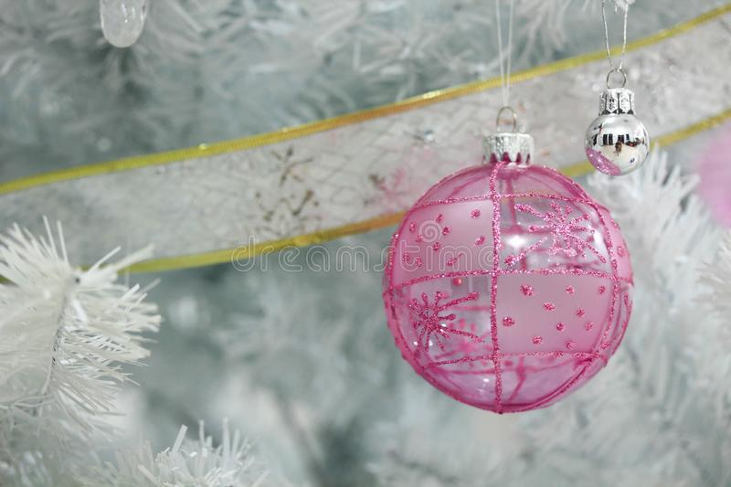 Christmas decoration on abstract background,vintage filter,soft focus. Christmas decoration for holidays on abstract background,close up, vintage filter,soft royalty free stock photo