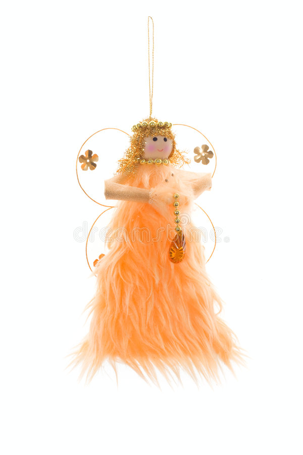 Christmas decoration - angel royalty free stock images