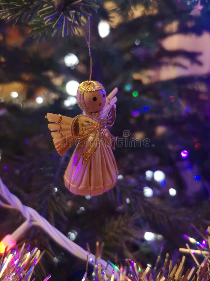 Christmas, decoration, angel, love, tree, family. Christmas, decoration, angel, love, tree stock images