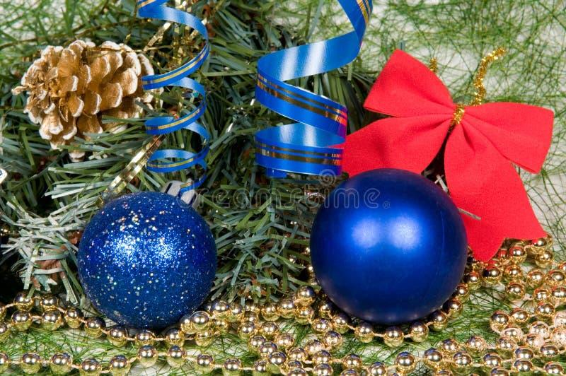 Christmas decoration assortment stock photography