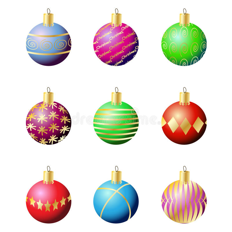 Free Christmas Decoration Balls Royalty Free Stock Images - 16440819