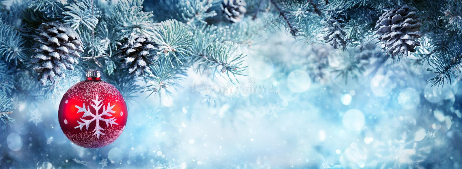 Download Christmas Decoration For Banner Stock Image - Image: 62758327