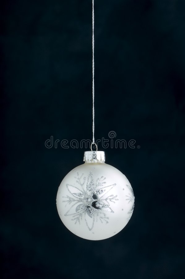 Download Christmas Decoration On Blue Stock Image - Image: 3410797