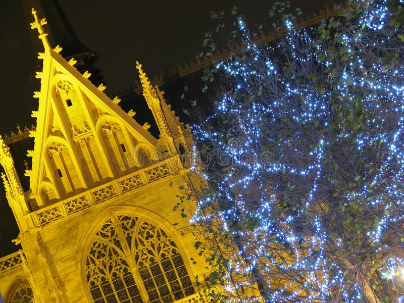 Download Christmas Decoration In Brussels (Belgium) Stock Images - Image: 20036344