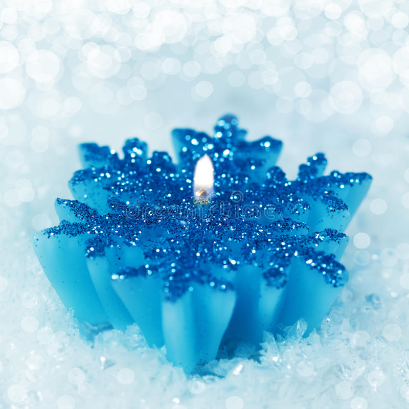 Christmas decoration candlestick royalty free stock photography