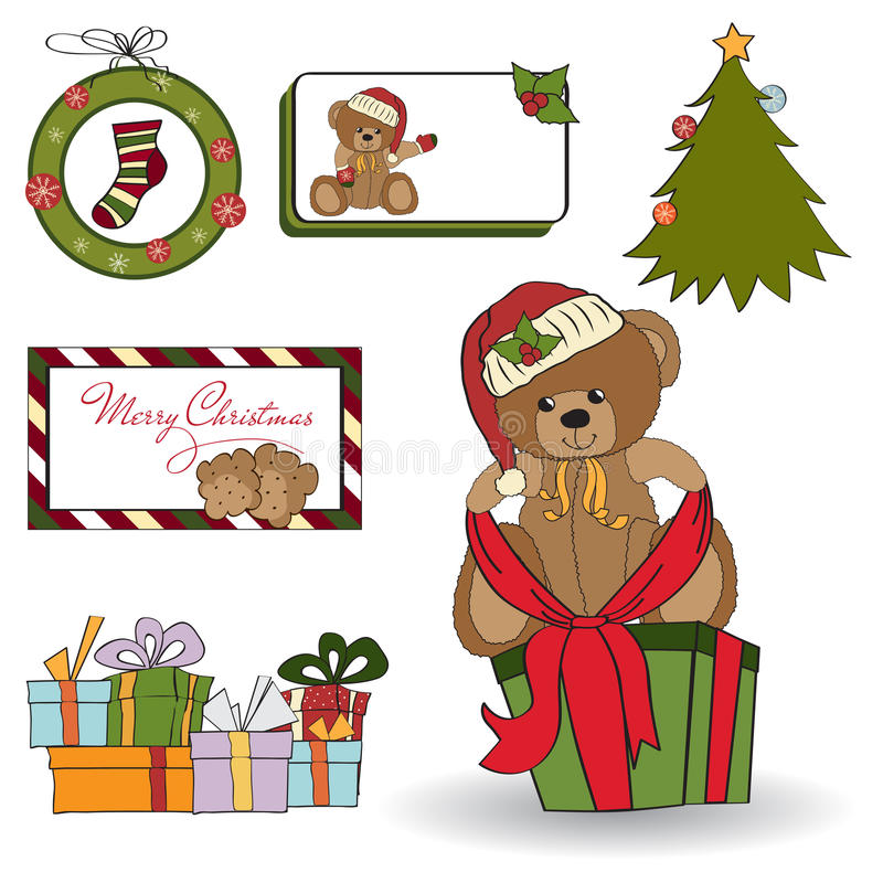 Download Christmas Decoration Elements Set Stock Illustration - Image: 22493071