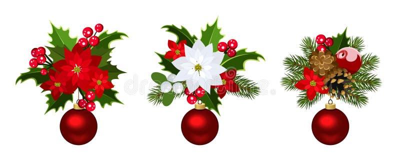 Christmas Decoration Elements. Stock Photo