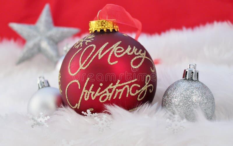 Christmas Decoration With Fake Snow Stock Photos - Image ...