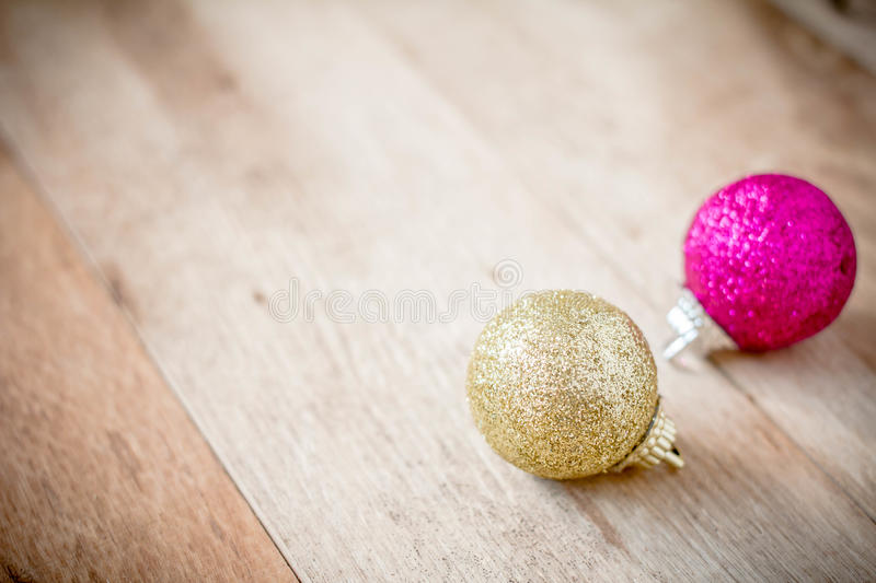 Christmas decoration with festive on dark wooden background stock photo