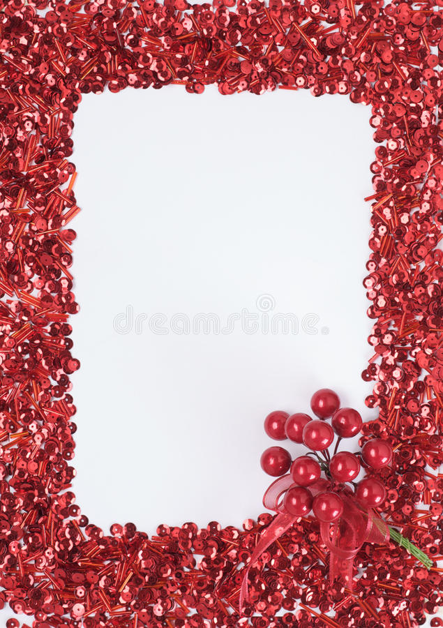 Download Christmas decoration frame stock photo. Image of space - 11415232