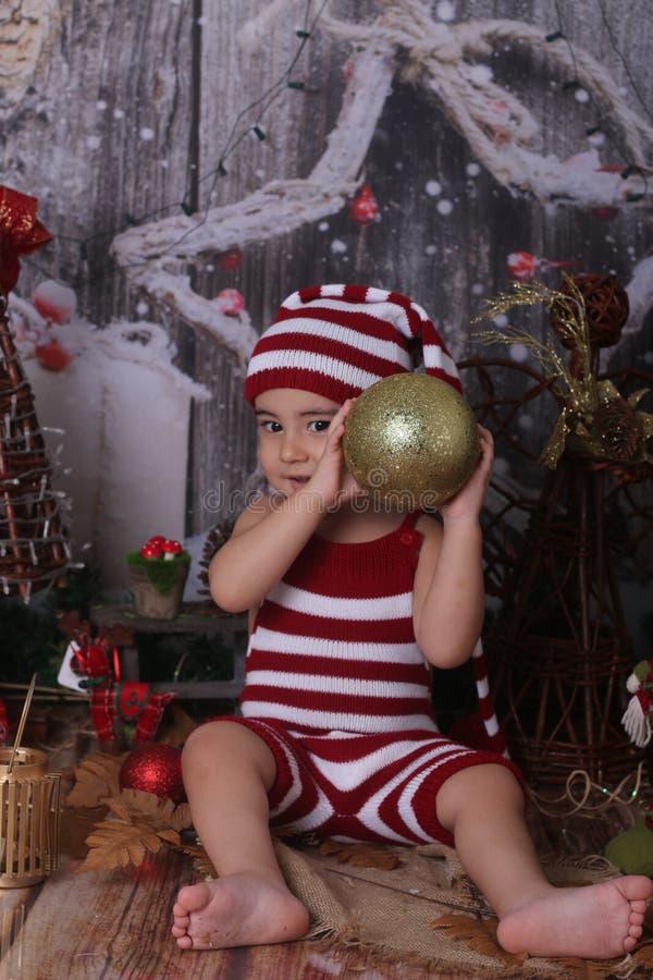 Christmas, Christmas Decoration, Girl, Headgear royalty free stock image