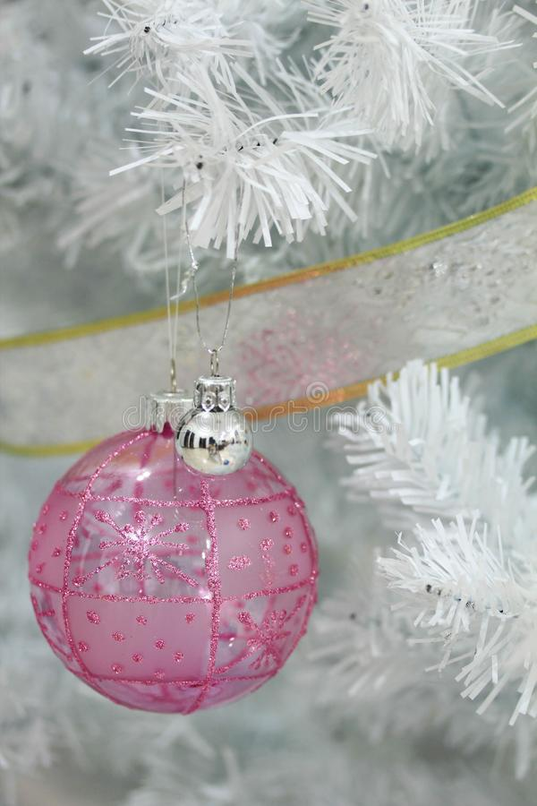 Christmas decoration on abstract background,vintage filter,soft focus. Christmas decoration for holidays on abstract background,close up, vintage filter,soft stock image