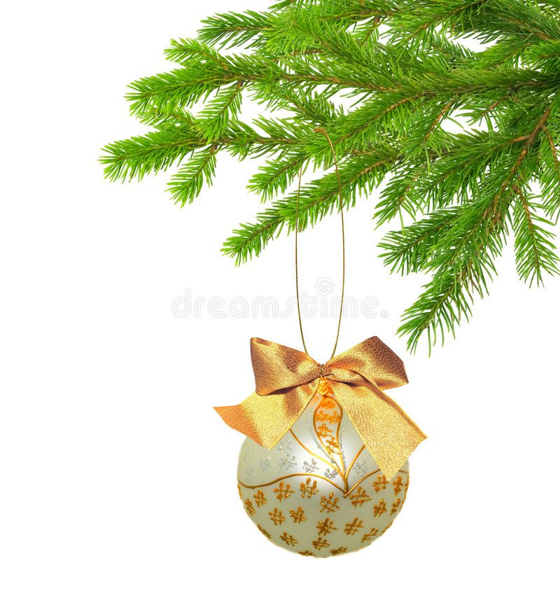 Download Christmas Decoration Isolated Stock Photo - Image of beginning, decorate: 7158282