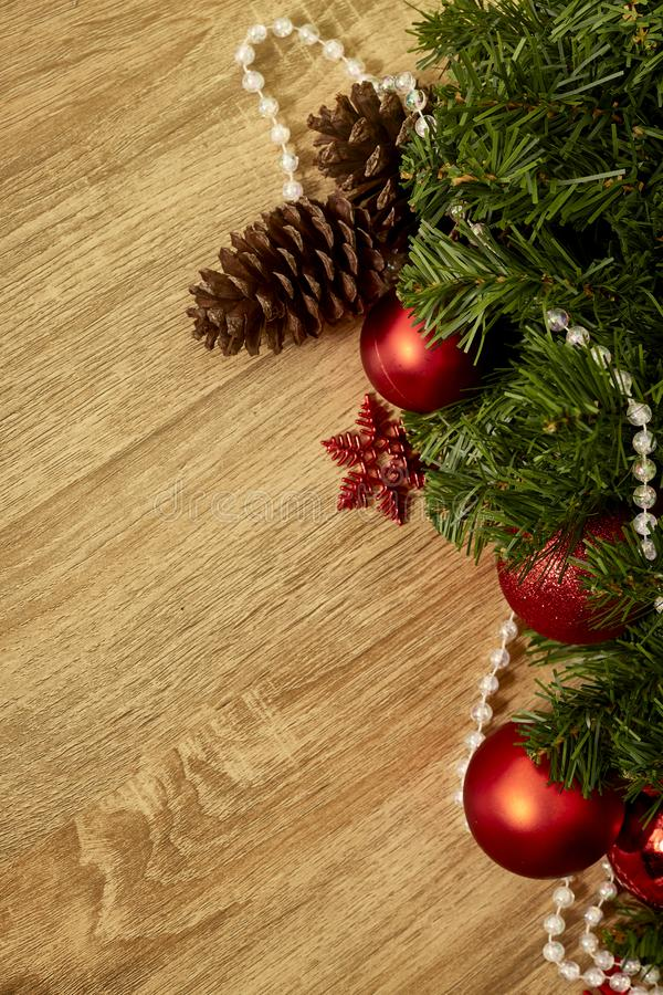 Christmas decoration and New Year 2019 royalty free stock photography