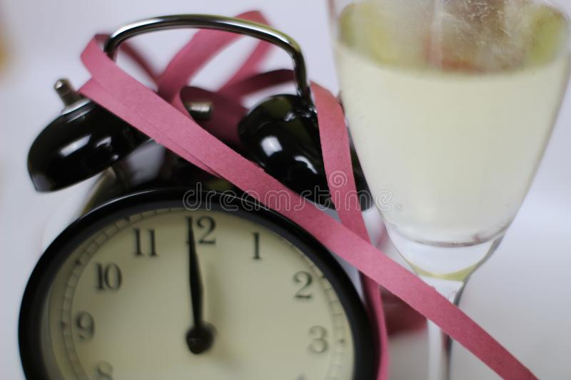Christmas and new year& x27;s eve celebration and countdown royalty free stock images