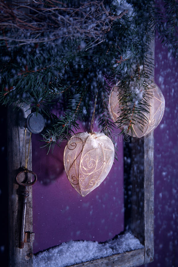 Download Christmas Decoration Purple Stock Photo - Image: 20723572