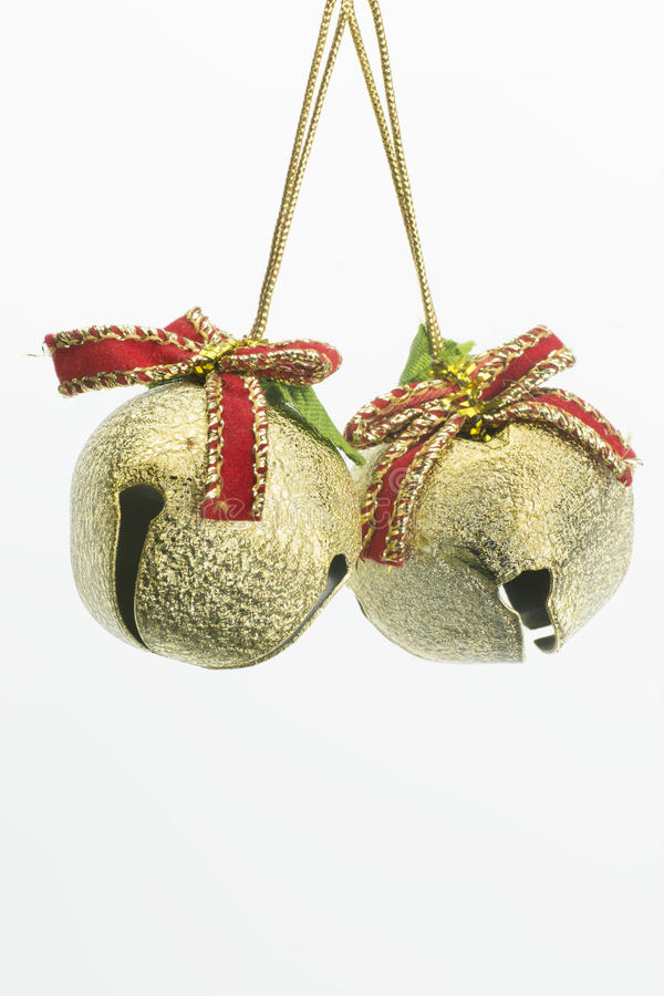 Christmas decoration reindeer bells stock photo image