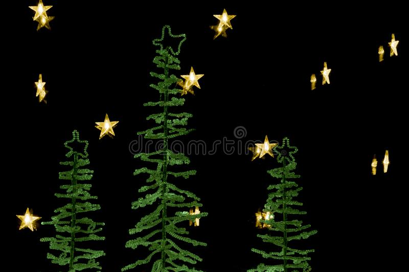 Christmas decoration scene royalty free stock image