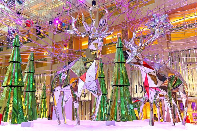 Christmas decoration at shopping mall editorial image for Christmas decoration online shop