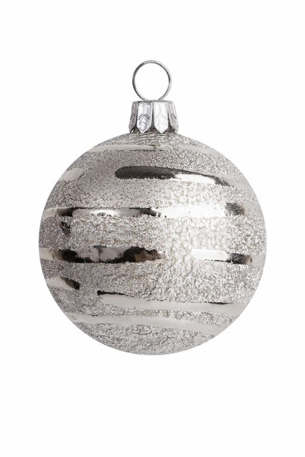 Free Christmas Decoration - Silver Ball Decorations Royalty Free Stock Images - 22276509