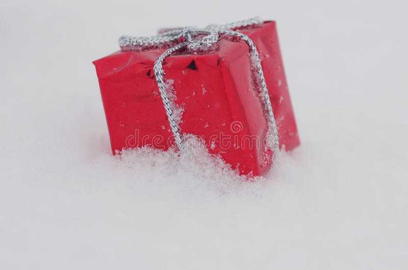 Christmas decoration snow royalty free stock photos