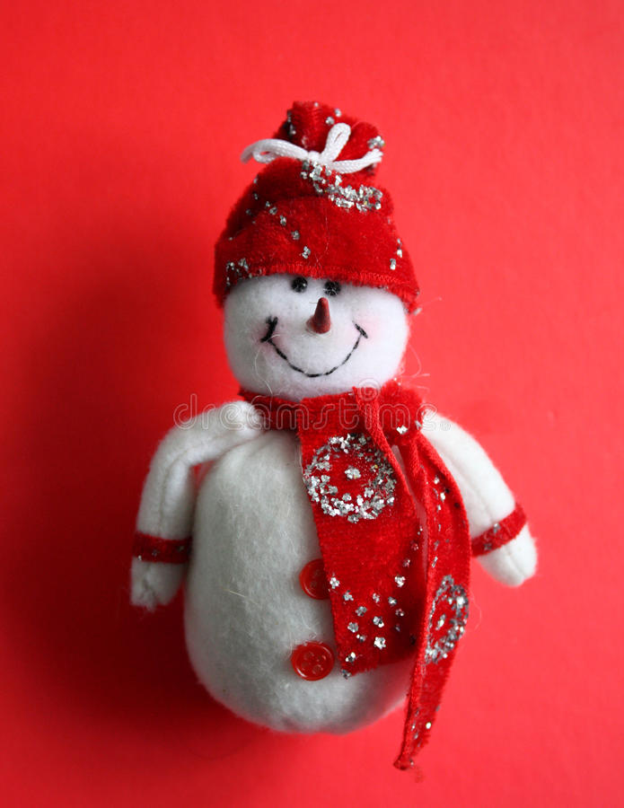 Christmas decoration Snowman royalty free stock images