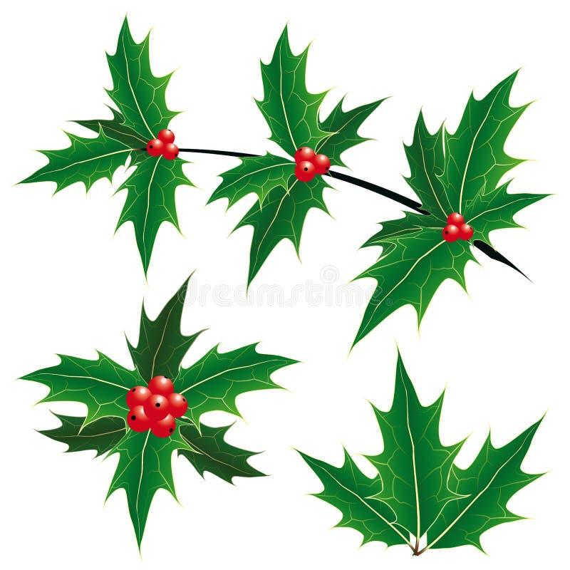 Christmas decoration symbols royalty free stock photos