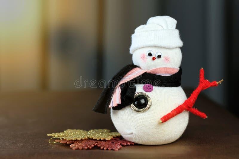Christmas decoration, warm winter celebration. stock photography