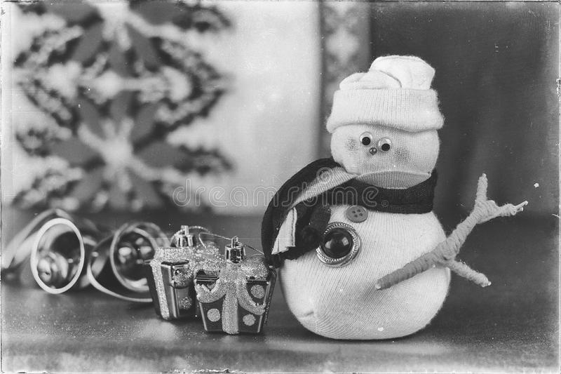 Christmas decoration, warm winter celebration. royalty free stock photo