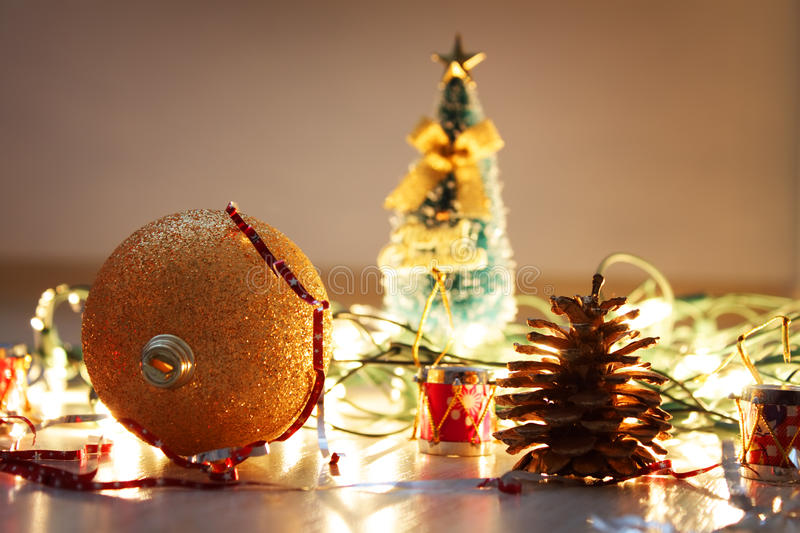 Download Christmas decorations stock image. Image of glittering - 11583905