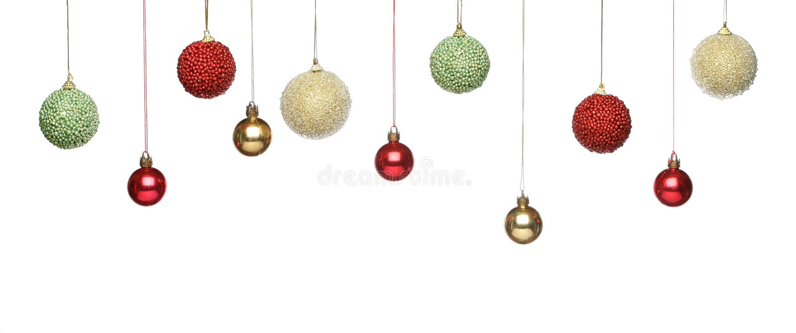 Download Christmas decorations stock photo. Image of baubles, ball - 11714692