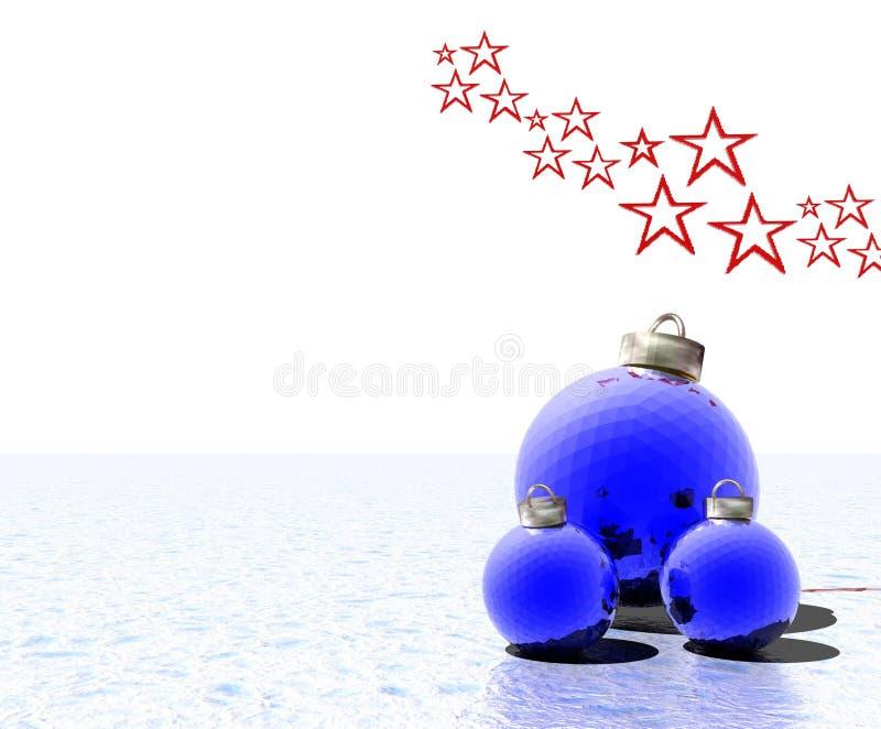 Christmas Decorations royalty free illustration