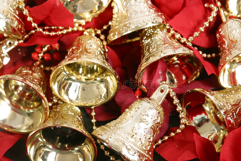 Christmas Decorations. Various Christmas Decorations to be used in general holiday items stock photography