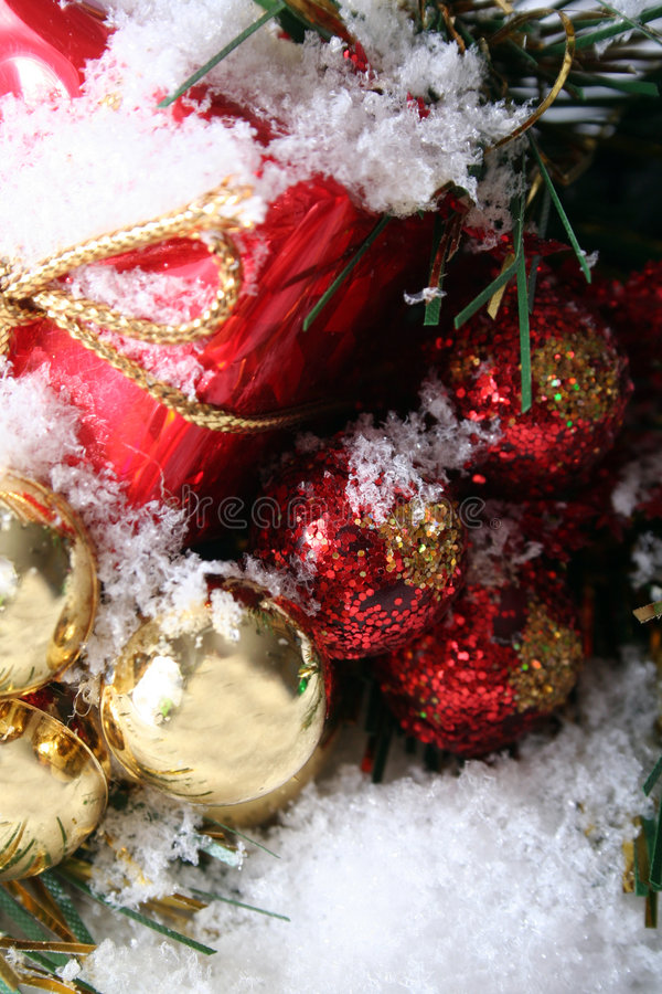 Christmas Decorations. Holiday Items for general christmas use stock photography