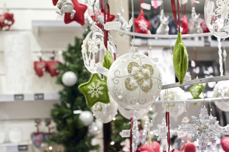 Download Christmas decorations stock image. Image of commerce - 17508781