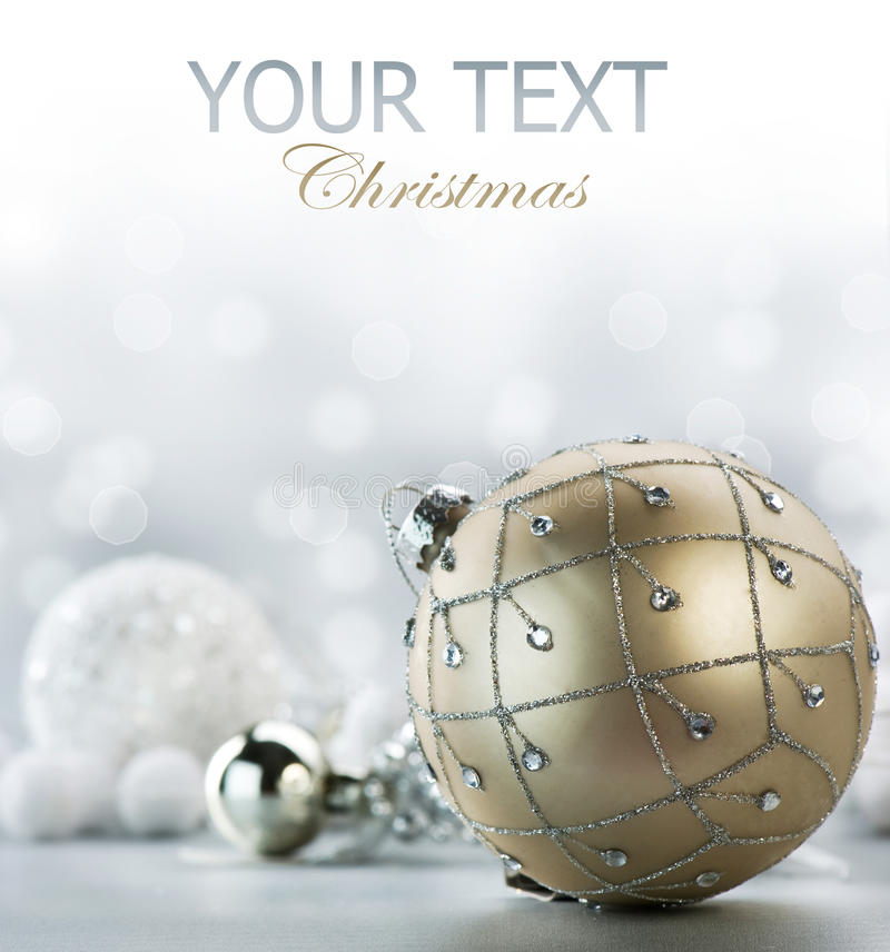 Download Christmas Decorations stock image. Image of blink, ball - 22337131
