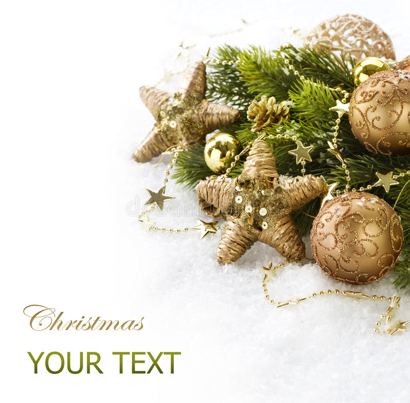 Download Christmas Decorations stock photo. Image of copyspace - 22337138