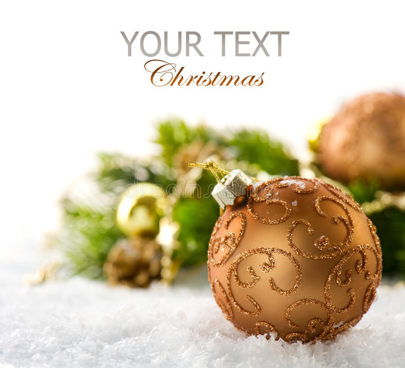 Free Christmas Decorations Royalty Free Stock Photos - 22337198