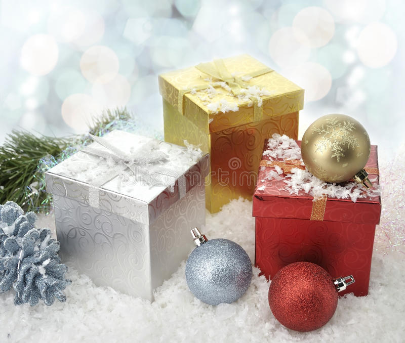 Download Christmas Decorations stock photo. Image of element, color - 22354796